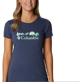 Columbia Daisy Days SS Graphic Tee Women nocturnal heather